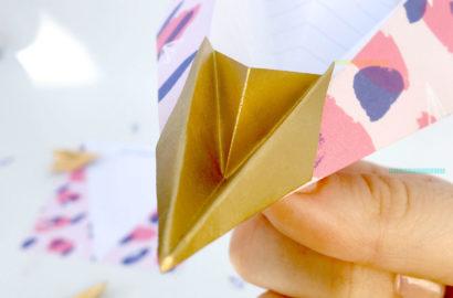 DIY - avion en papier