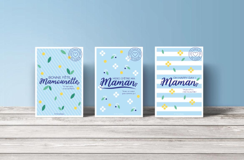 Cartes postales Fête des mères