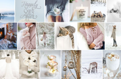 Moodboard - Romantic winter