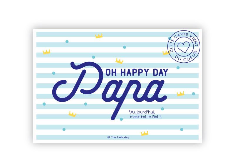 Oh happy day Papa