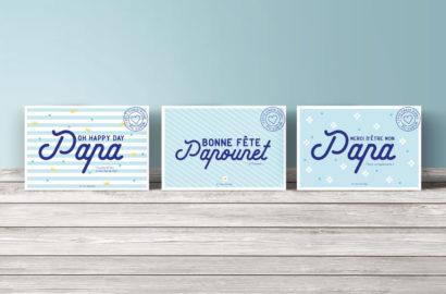 Cartes postales - Fête des pères