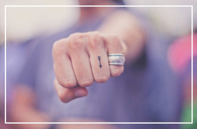 Sélection tattoos minimalistes