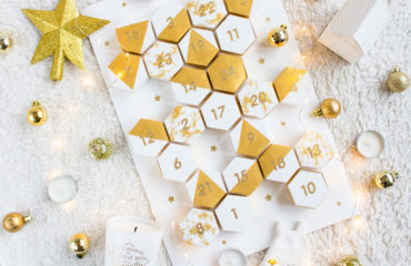 DIY calendrier de l'avent Graphic & Gold